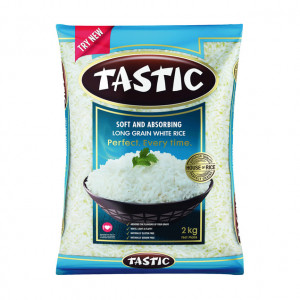 Tastic Long Grain Rice White Soft And Absorbing